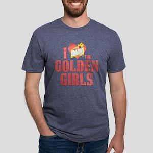 I Heart Golden Girls Mens Tri-blend T-Shirt
