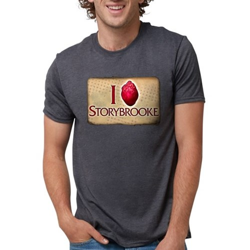 I Heart Storybrooke Mens Tri-blend T-Shirt