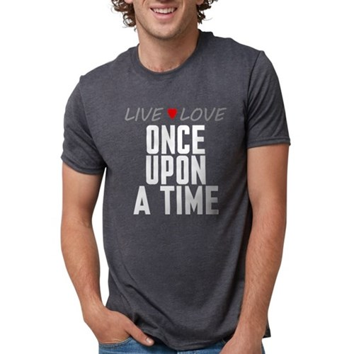 Live Love Once Upon a Time Mens Tri-blend T-Shirt