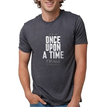 It's a Once Upon a Time Thing Mens Tri-blend T-Shi