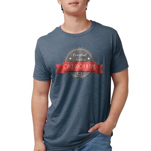 Certified Once Upon a Time Ad Mens Tri-blend T-Shi