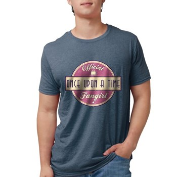 Official Once Upon a Time Fan Mens Tri-blend T-Shi