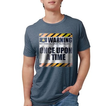 Warning: Once Upon a Time Mens Tri-blend T-Shirt