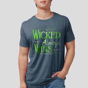 Wicked Always WIns Mens Tri-blend T-Shirt