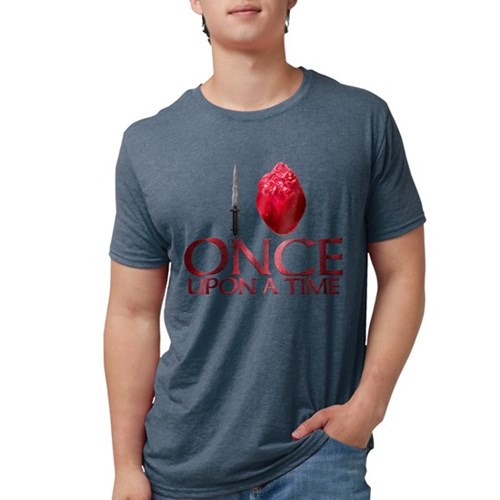 I Heart Once Upon a Time Mens Tri-blend T-Shirt