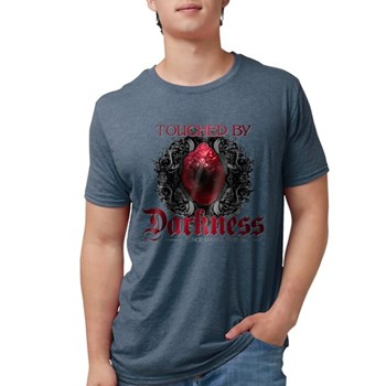 Touched by Darkness Mens Tri-blend T-Shirt