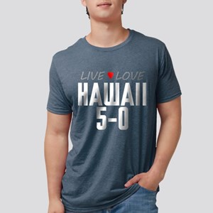 Live Love Hawaii 5-0 Mens Tri-blend T-Shirt