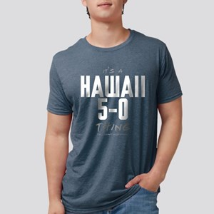 It's a Hawaii 5-0 Thing Mens Tri-blend T-Shirt