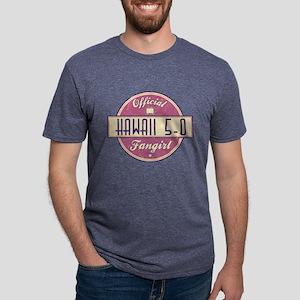 Official Hawaii 5-0 Fangirl Mens Tri-blend T-Shirt