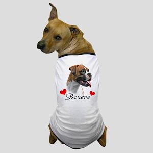 Love Boxers Dog T-Shirt