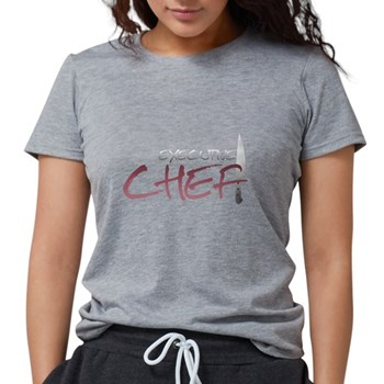 Red Executive Chef Womens Tri-blend T-Shirt
