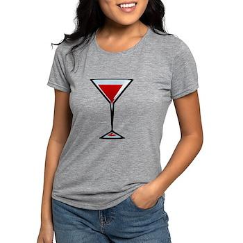Vampire Martini Womens Tri-blend T-Shirt