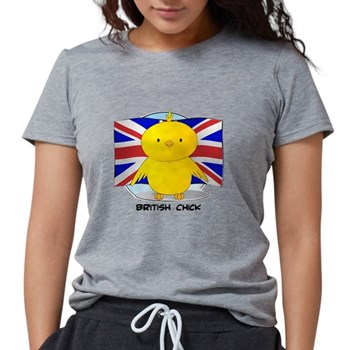 British Chick Womens Tri-blend T-Shirt