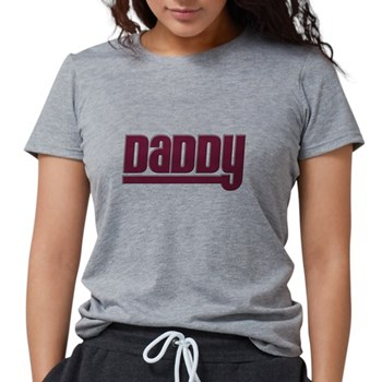 Daddy - Red Womens Tri-blend T-Shirt