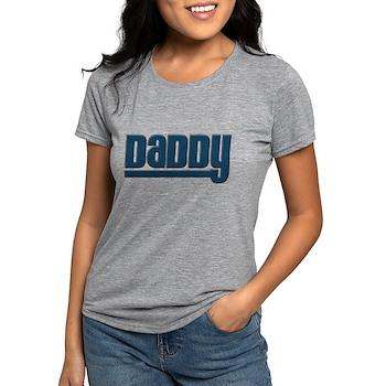 Daddy - Blue Womens Tri-blend T-Shirt