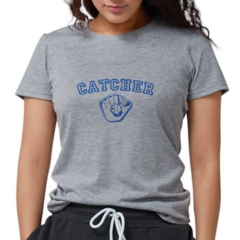 Catcher - Blue Womens Tri-blend T-Shirt