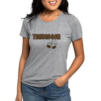 Teabagger Womens Tri-blend T-Shirt
