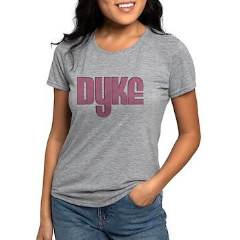 Pink Dyke Womens Tri-blend T-Shirt