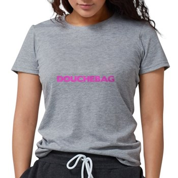 Douchebag Womens Tri-blend T-Shirt