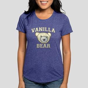 Vanilla Bear Womens Tri-blend T-Shirt