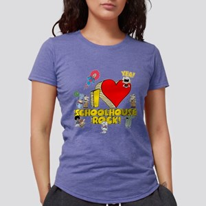 I Heart Schoolhouse Rock! Womens Tri-blend T-Shirt