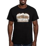 Canyonlands National Park Men's Fitted T-Shirt (da