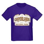 Canyonlands National Park Kids Dark T-Shirt