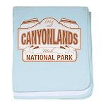 Canyonlands National Park baby blanket