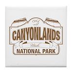 Canyonlands National Park Tile Coaster