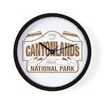 Canyonlands National Park Wall Clock