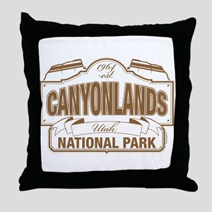 Canyonlands National Park Throw Pillow