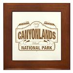 Canyonlands National Park Framed Tile