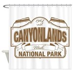 Canyonlands National Park Shower Curtain