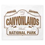 Canyonlands National Park King Duvet