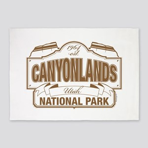 Canyonlands National Park 5'x7'Area Rug