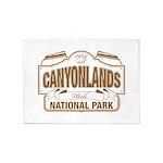 Canyonlands National Park 5'x7'Area Rug