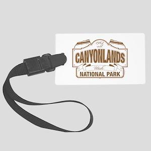 Canyonlands National Park Large Luggage Tag