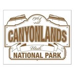 Canyonlands National Park Small Poster