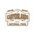 Canyonlands National Park 35x21 Wall Decal