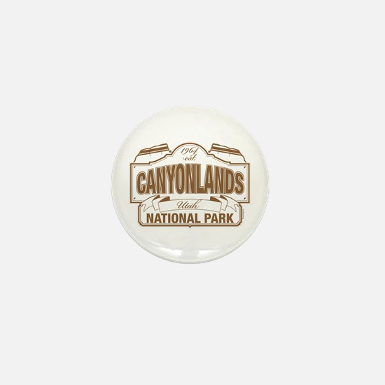 Canyonlands National Park Mini Button
