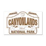 Canyonlands National Park Car Magnet 20 x 12