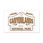 Canyonlands National Park Rectangle Car Magnet