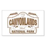 Canyonlands National Park Sticker (Rectangle)