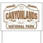 Canyonlands National Park Yard Sign
