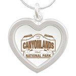 Canyonlands National Park Silver Heart Necklace