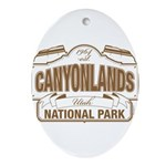 Canyonlands National Park Ornament (Oval)