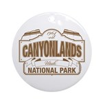 Canyonlands National Park Ornament (Round)
