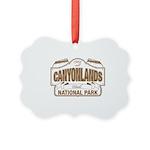 Canyonlands National Park Picture Ornament