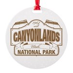 Canyonlands National Park Round Ornament