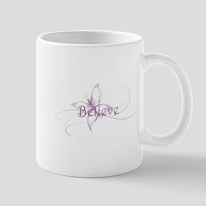 Believe Venture Butterfly Mug